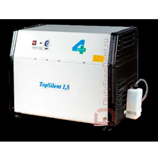 Безмасляный компрессор TopSilent 1.5 | 4-Tek (Италия)
