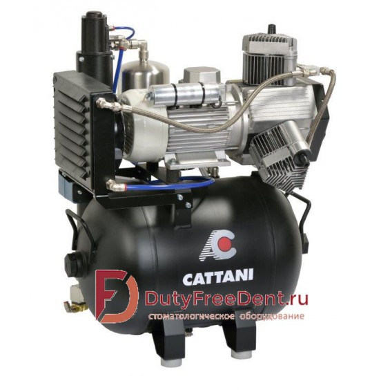 Cattani Каттани безмаслянный компрессор на две установки С013230