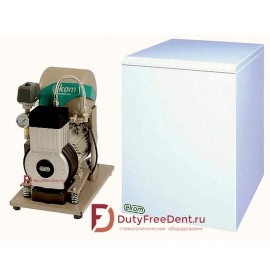 DK50 S компрессор для одной стоматологической установки EKOM Эком