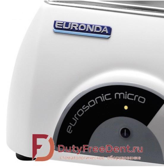 Eurosonic Micro Ультразвуковая мойка 0,5 литра  Евросоник микро Euronda