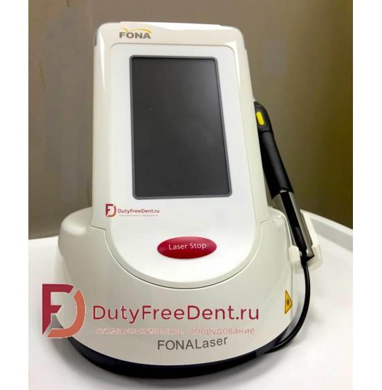 FONALaser - диодный стоматологический лазер к комплекте с наконечником для отбеливания от Sirona Dental