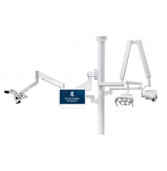KaVo Centro® 1540. Стойка для крепления: рентгена, микроскопа, монитора и др.