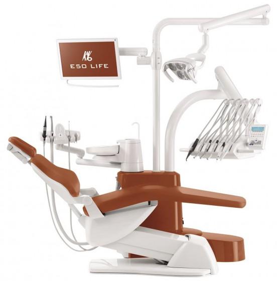 Estetica E50 Smart - стоматологическая установка с верхней подачей инструментов