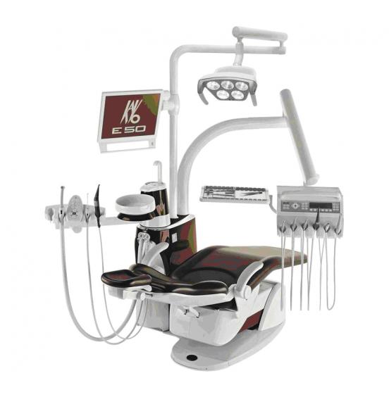 Estetica E50 Master - стоматологическая установка с верхней подачей инструментов
