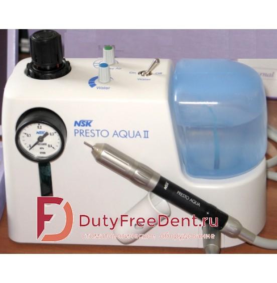 PRESTO AQUA  2 - не требующий смазки турбинный наконечник с системой подачи воды  Престо Аква 2 y150023 NSK