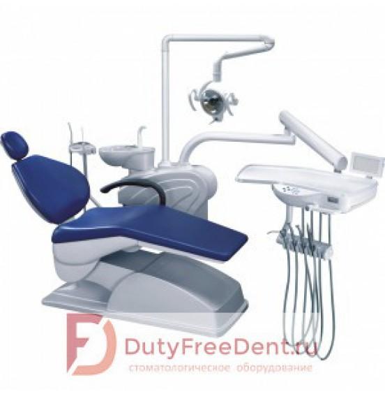AY-A 1000 - стоматологическая установка с нижней подачей инструментов