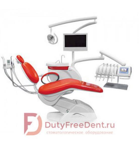 Chiromega 654 Duet - стоматологическая установка с верхней подачей инструментов