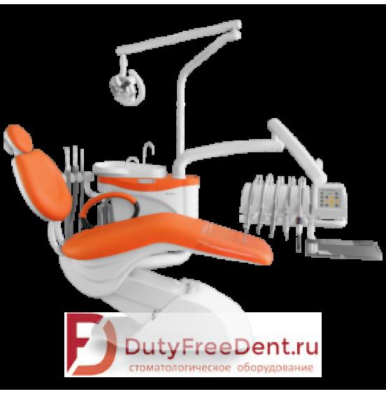 Chiromega 654 Nika - стоматологическая установка с верхней подачей инструментов