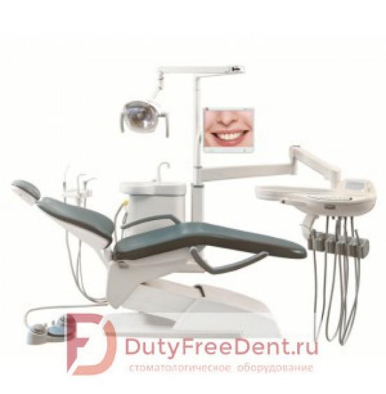 VICTOR V100 (AM8015) - стоматологическая установка с нижней/верхней подачей инструментов