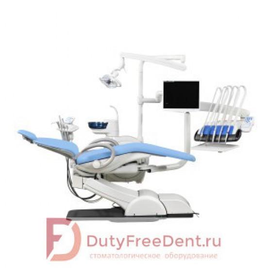 WOD730 - стоматологическая установка с верхней подачей инструментов