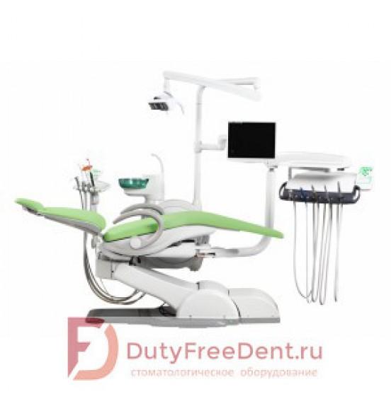 WOD730 - стоматологическая установка с нижней подачей инструментов