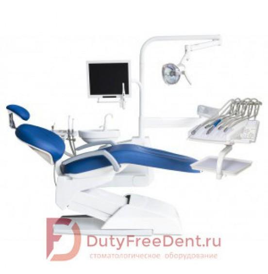 VICTOR V300 (AM8050) - стоматологическая установка с верхней подачей инструментов, с гидравлическим приводом