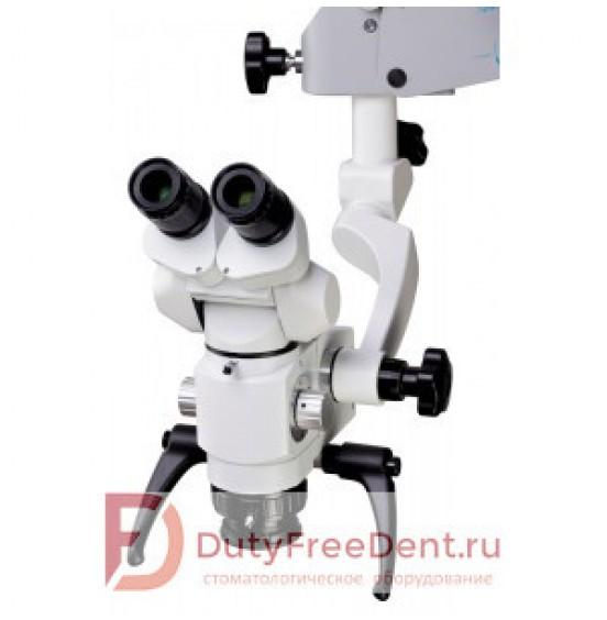 ALLTION АМ-8000 - компактный операционный микроскоп с 3-х и 5-ти ступенчатым увеличением и LED-подсветкой