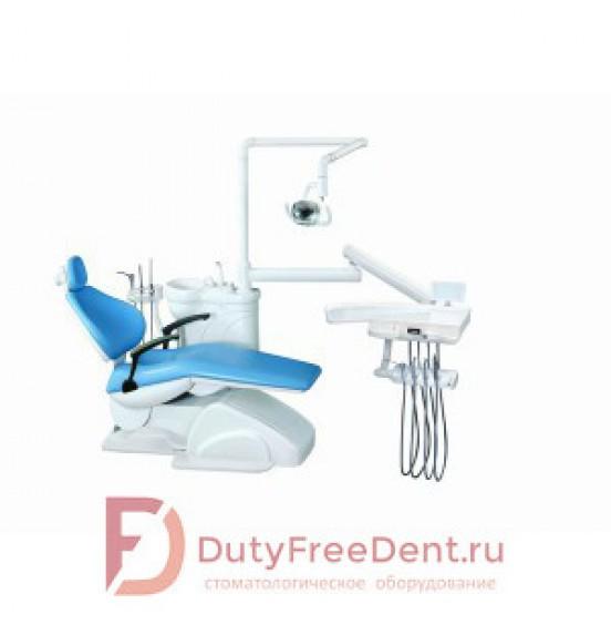 Azimut 100A - стоматологическая установка с нижней подачей инструментов и одним стулом