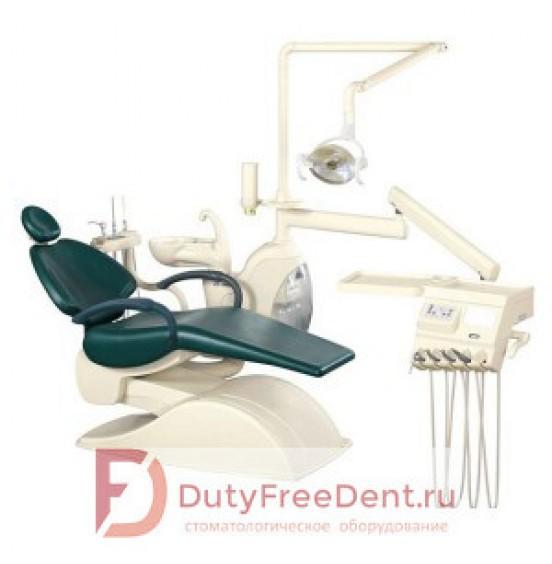 Azimut 400A Elegance - стоматологическая установка с нижней подачей инструментов