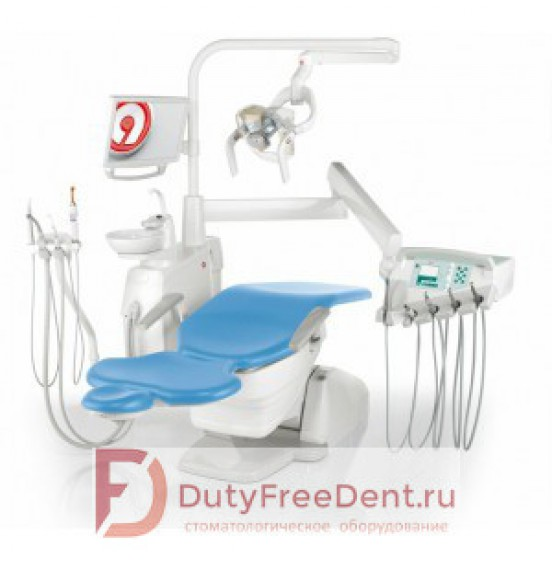 Anthos Classe A3 Plus - стоматологическая установка с нижней подачей инструментов