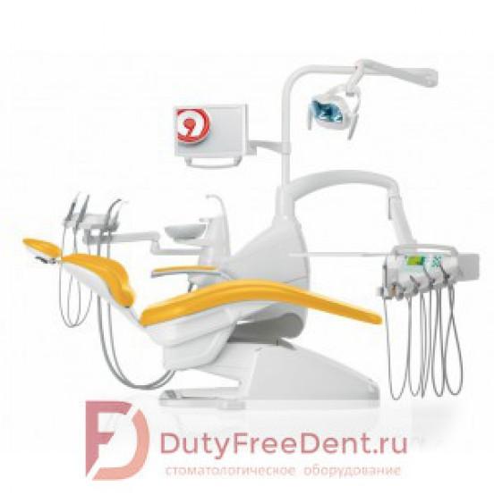Anthos Classe A6 Plus - стоматологическая установка с нижней подачей инструментов