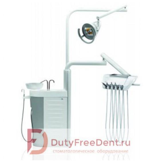 Diplomat Adept DA110A - стационарная стоматологическая установка с нижней подачей инструментов