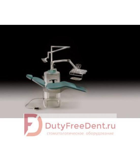 Fedesa Coral Air - стоматологическая установка с нижней/верхней подачей инструментов в базовой комплектации