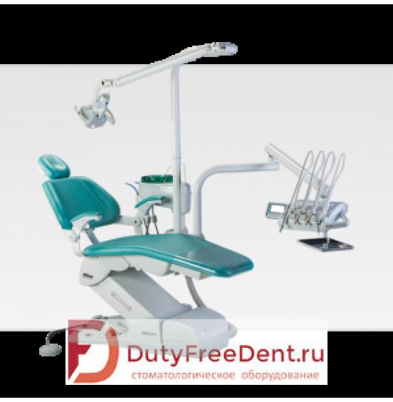 Gallant Quality Cross Flex - стоматологическая установка с верхней подачей инструментов
