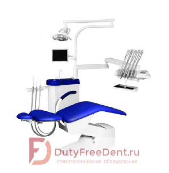 IMPULS S200 - стационарная стоматологическая установка с верхней подачей инструментов