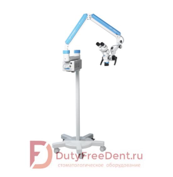 OP-DENT - микроскоп операционный для стоматологических исследований с 3-х ступенчатой системой увеличения и галогеновым светом