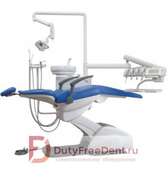Premier 08 - стоматологическая установка с верхней подачей инструментов, стулом врача и ассистента