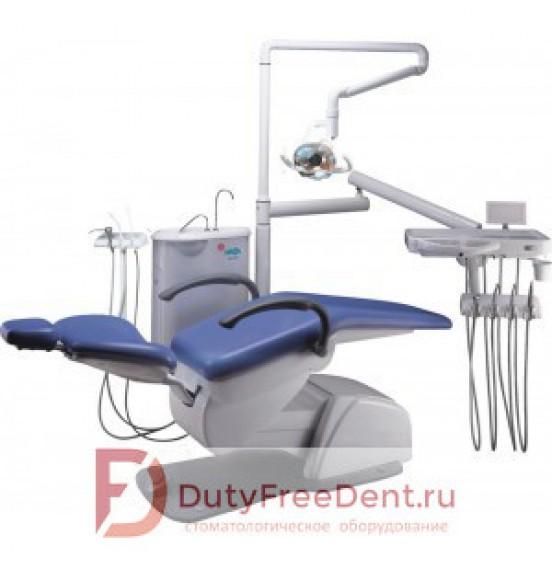 Premier 15 - стоматологическая установка с нижней подачей инструментов, стулом врача и ассистента