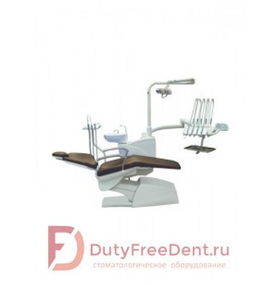 Premier 17 - стоматологическая установка с верхней подачей инструментов, стулом врача и ассистента