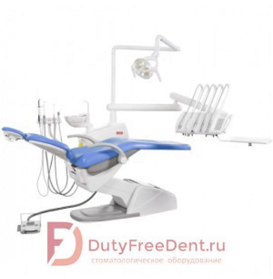 SV-10 - стоматологическая установка с верхней подачей инструментов