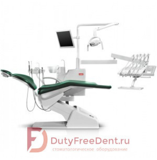 SV-20 - стоматологическая установка с верхней подачей инструментов
