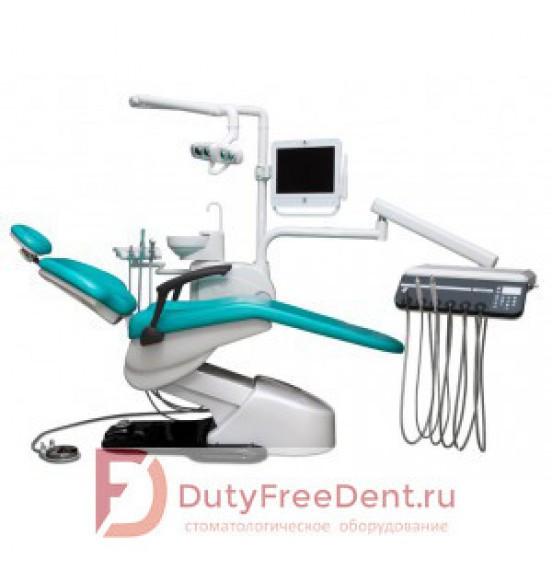 WOD550 - стоматологическая установка с нижней подачей инструментов