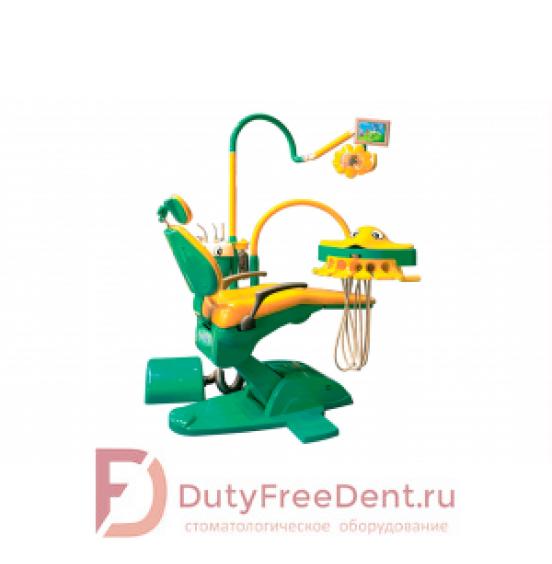Yoboshi А 800 - стоматологическая установка детская с нижней подачей инструментов